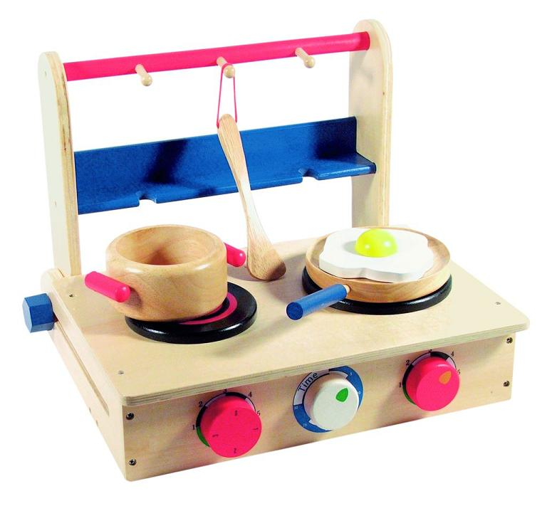 Keuken Accessoires Speelgoed : Houten speelgoed – houten tafelmodel keuken